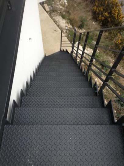 escalier exterieur thermolaque
